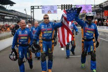 Brabham and CK Crew ignite Indy Carb Day Crowd