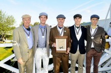 Sir Jack Brabham honored at Goodwood Revival